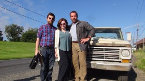 maggie pic 300x168 Schwarzenegger tweets pic from set of MAGGIE