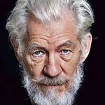 portrait of Sir Ian McKellen