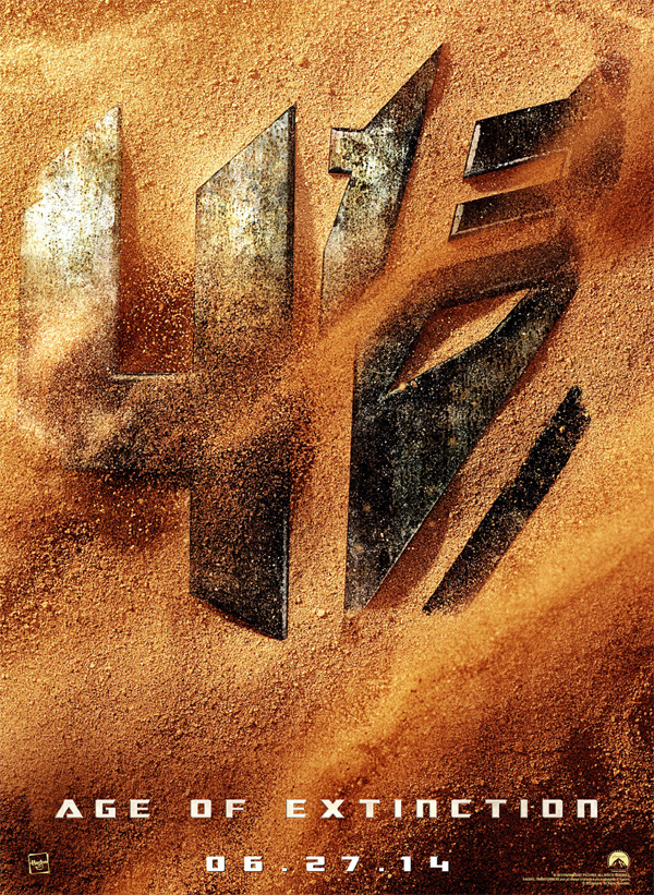 Teaser poster for Transformers 4