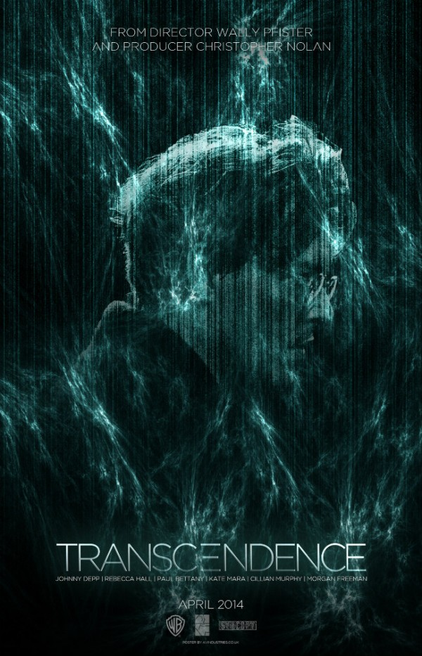 transcendence poster Details regarding Wally Pfisters Transcendence has emerged