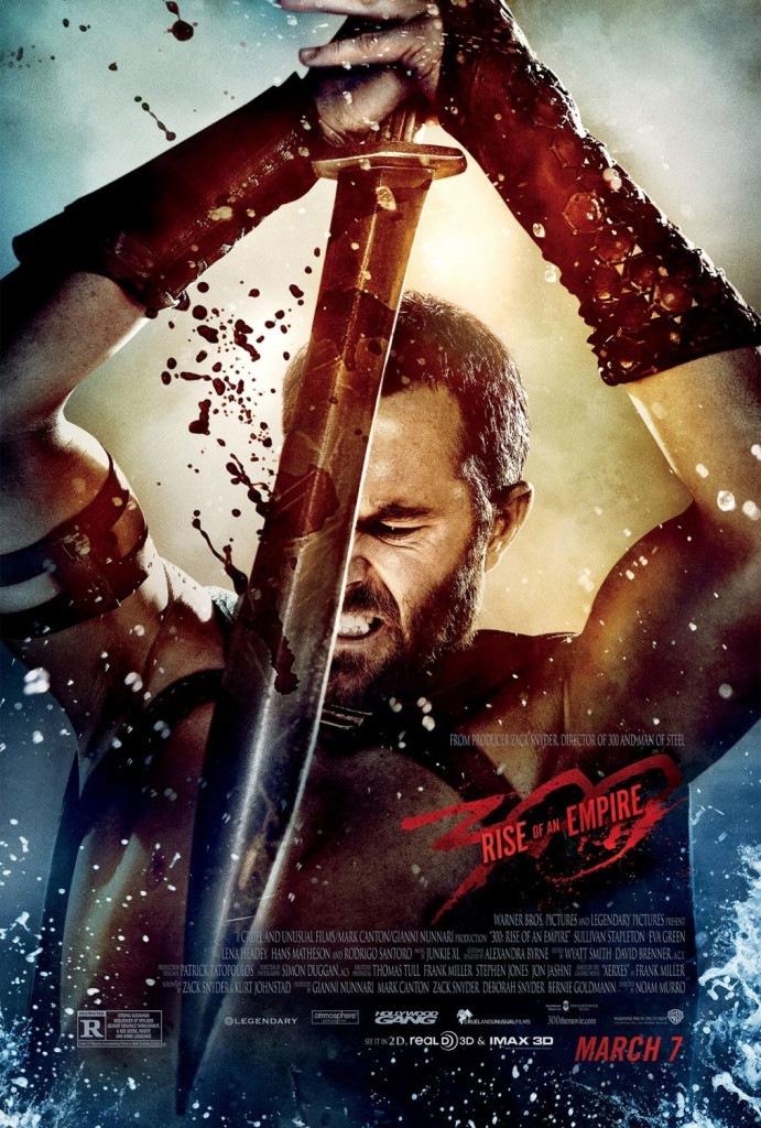 300 rise of an empire poster 691x1024 New 300 Rise of an Empire poster