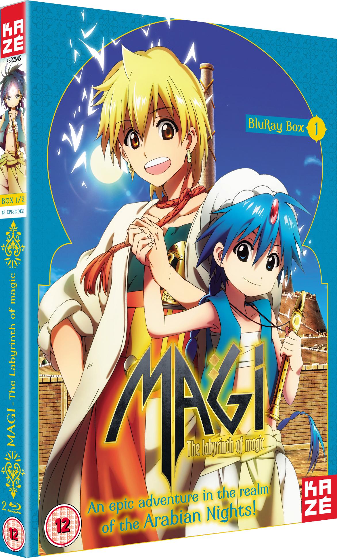 Magi The Labyrinth Of Magic Serienstream