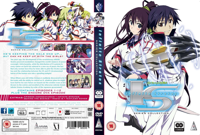 infinite stratos series 1 collection Infinite Stratos Season 1 review