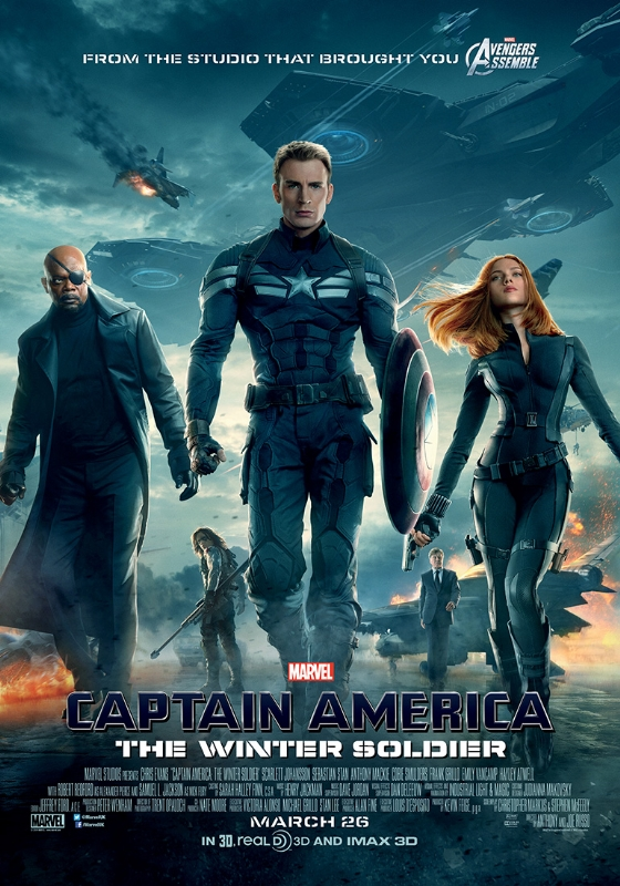captain america poster Captain America: The Winter Soldier review (2014)