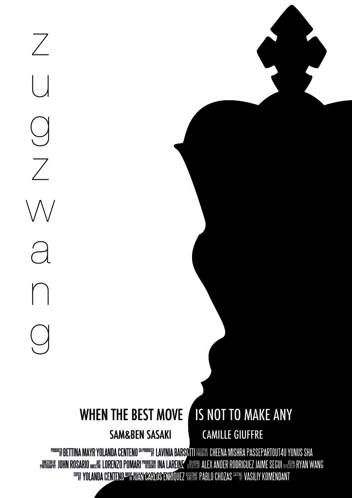 ZUGZWANG POSTER2 724x1024 Zugzwang short film review (2013)
