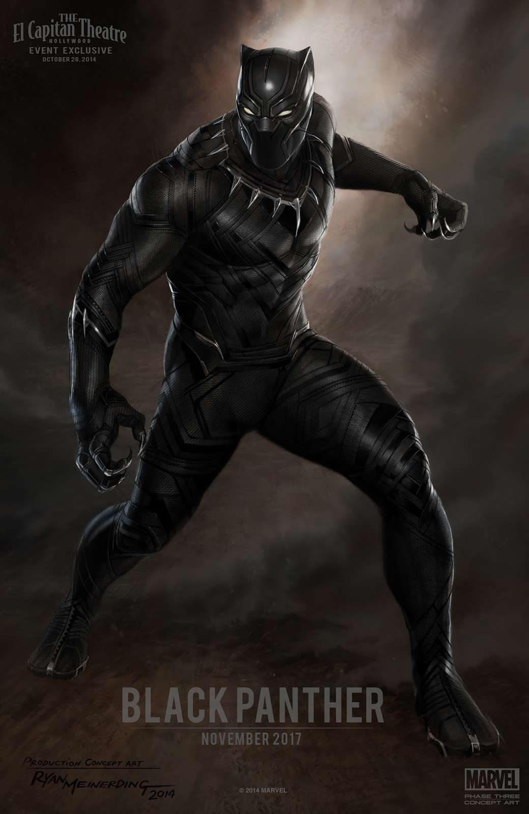 black panther Marvel announce all films up to 2019