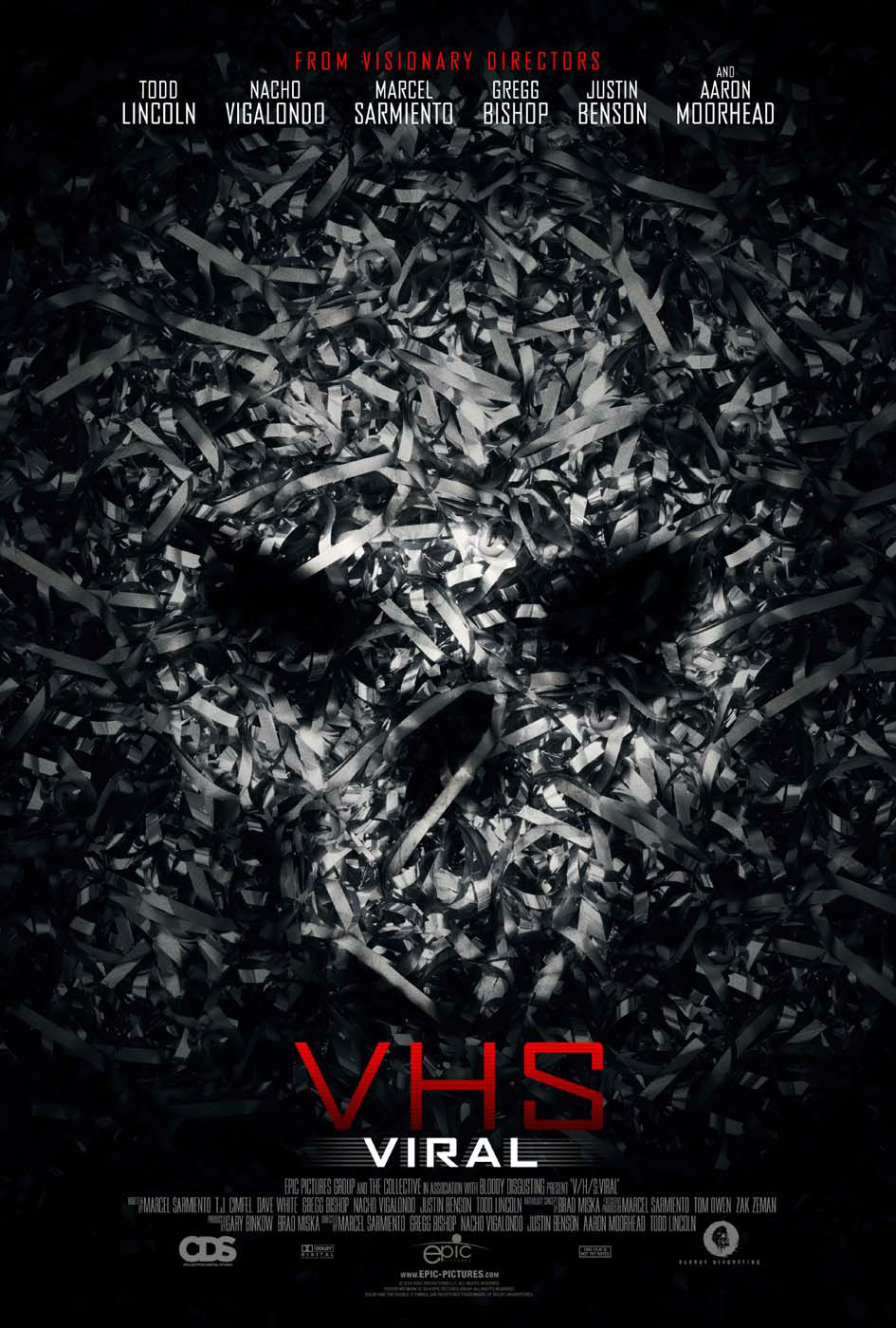 vhs viral poster V/H/S Viral review (2014)