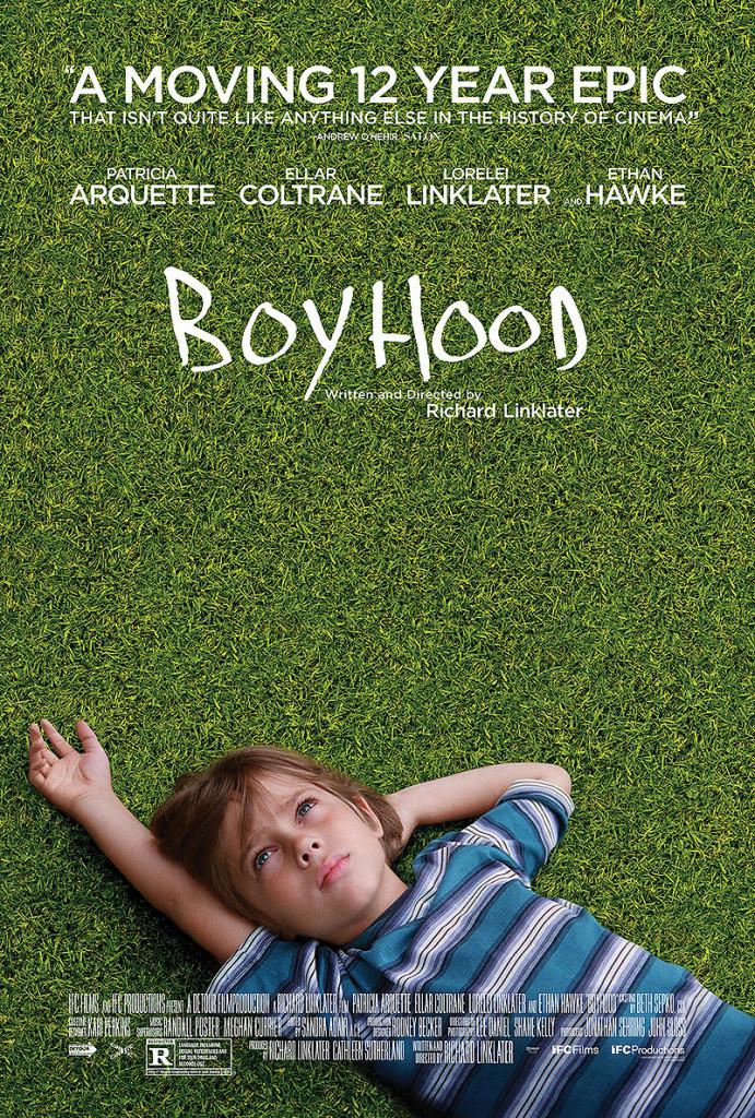 Boyhood poster 691x1024 Boyhood review (2014)