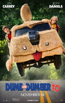 dumb and dumber to poster Dumb and Dumber To review (2014)