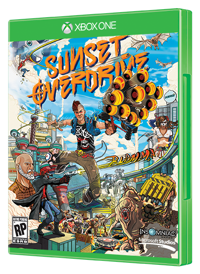 sunset overdrive box Sunset Overdrive (game review)