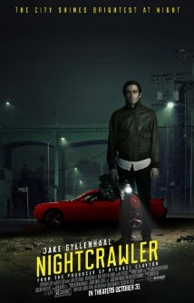 nightcrawler poster Nightcrawler review (2014)