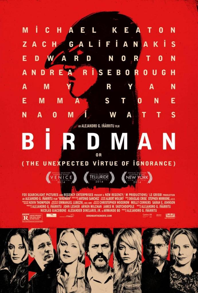 birdman poster 691x1024 2015 Academy Award winners list