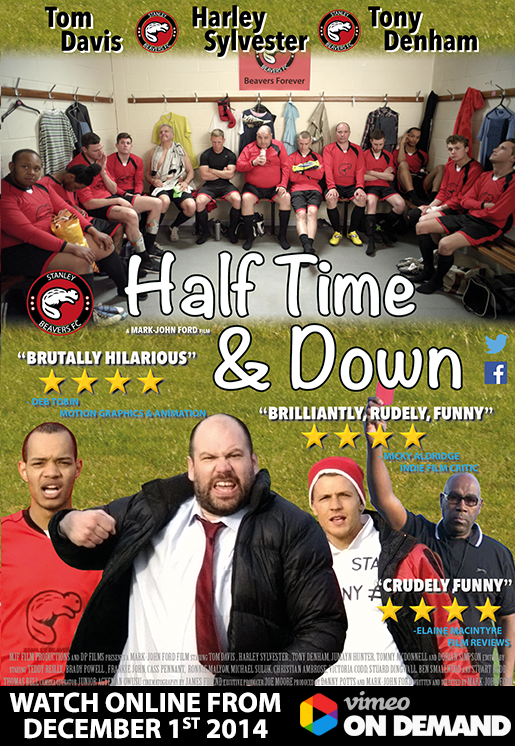 half time and down poster Half Time and Down (2014) short film review