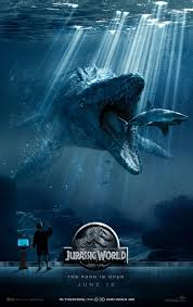 jurassic world poster 2 Jurassic World (2015) review