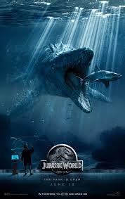 jurassic world poster 2 Jurassic World (2015) review