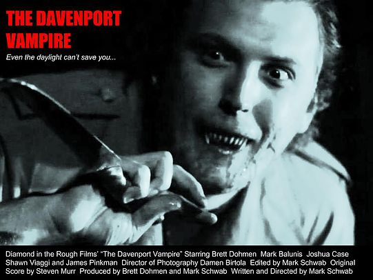 Davenport Vampire poster The Davenport Vampire (2014) short film review
