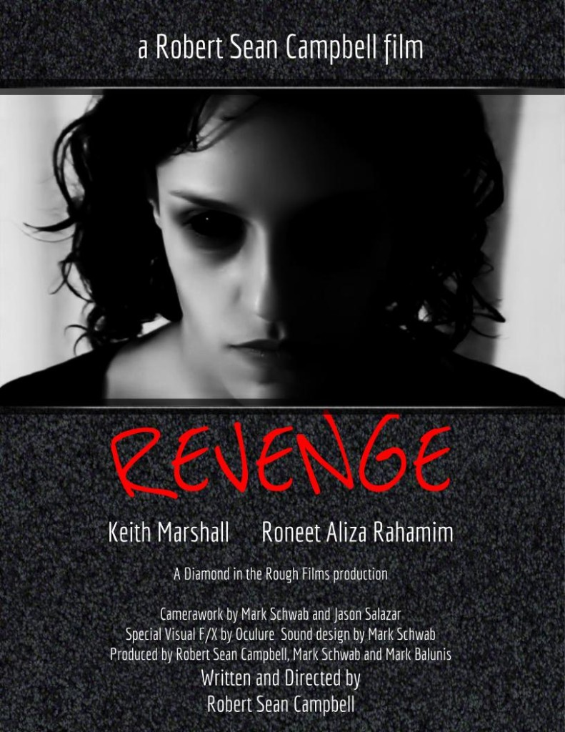revenge poster 791x1024 Revenge (2016) short film review