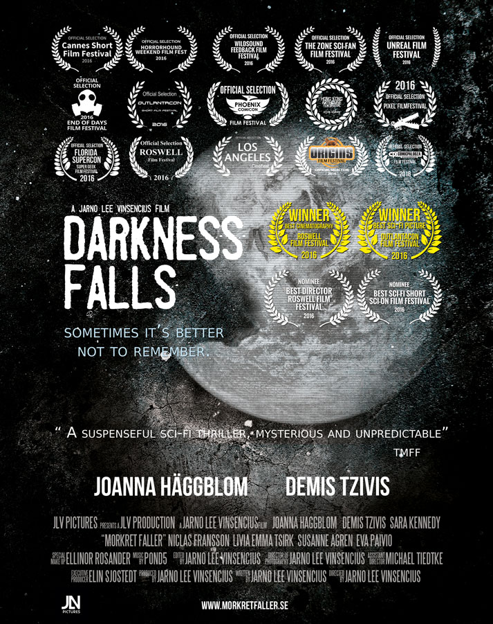 darkness falls poster Darkness Falls (2016) short film review