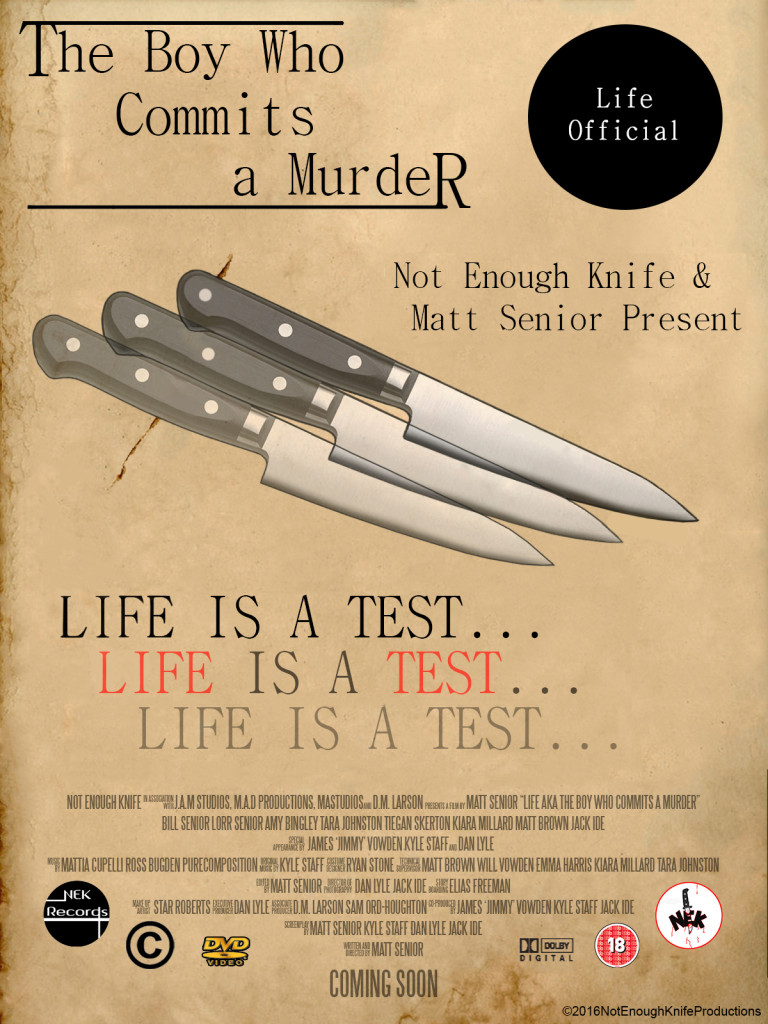 new knife 768x1024 Life (AKA The Boy Who Commits a Murder) 2016 short film review