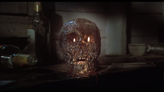 the burning skull The Burning (1981) Blu ray review