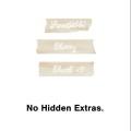 no hidden extras