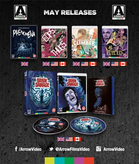 arrow may Arrow Video announce May 2017 releases
