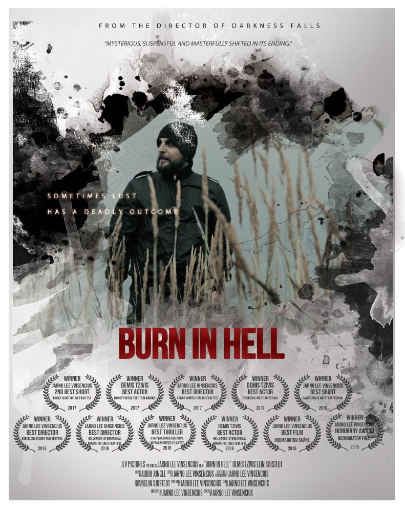 Burn in Hell Poster Burn in Hell (2015) short film review