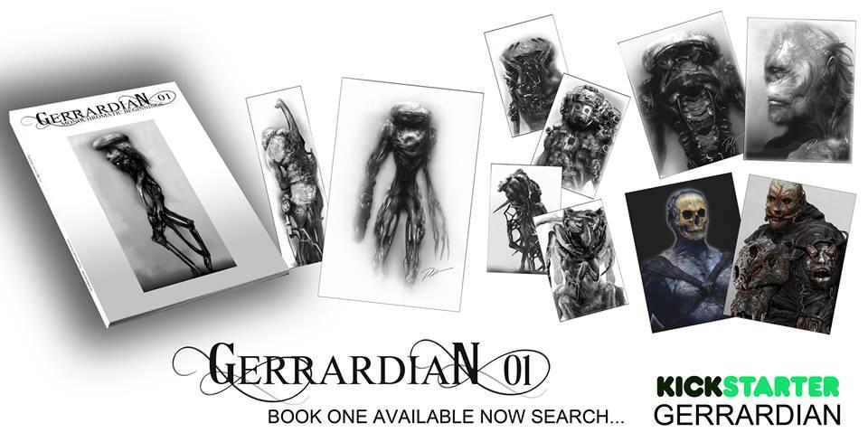 gerrardian vol 1 New Paul Gerrard Book Hits Kickstarter