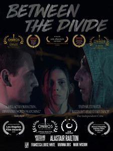 Feb 2018 winner Laurels Between The Divide Poster 225x300 Between the Divide (2018) short film review