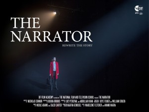 The Narrator Poster 300x226 The Narrator (2018) short film review