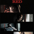 the letter red poster