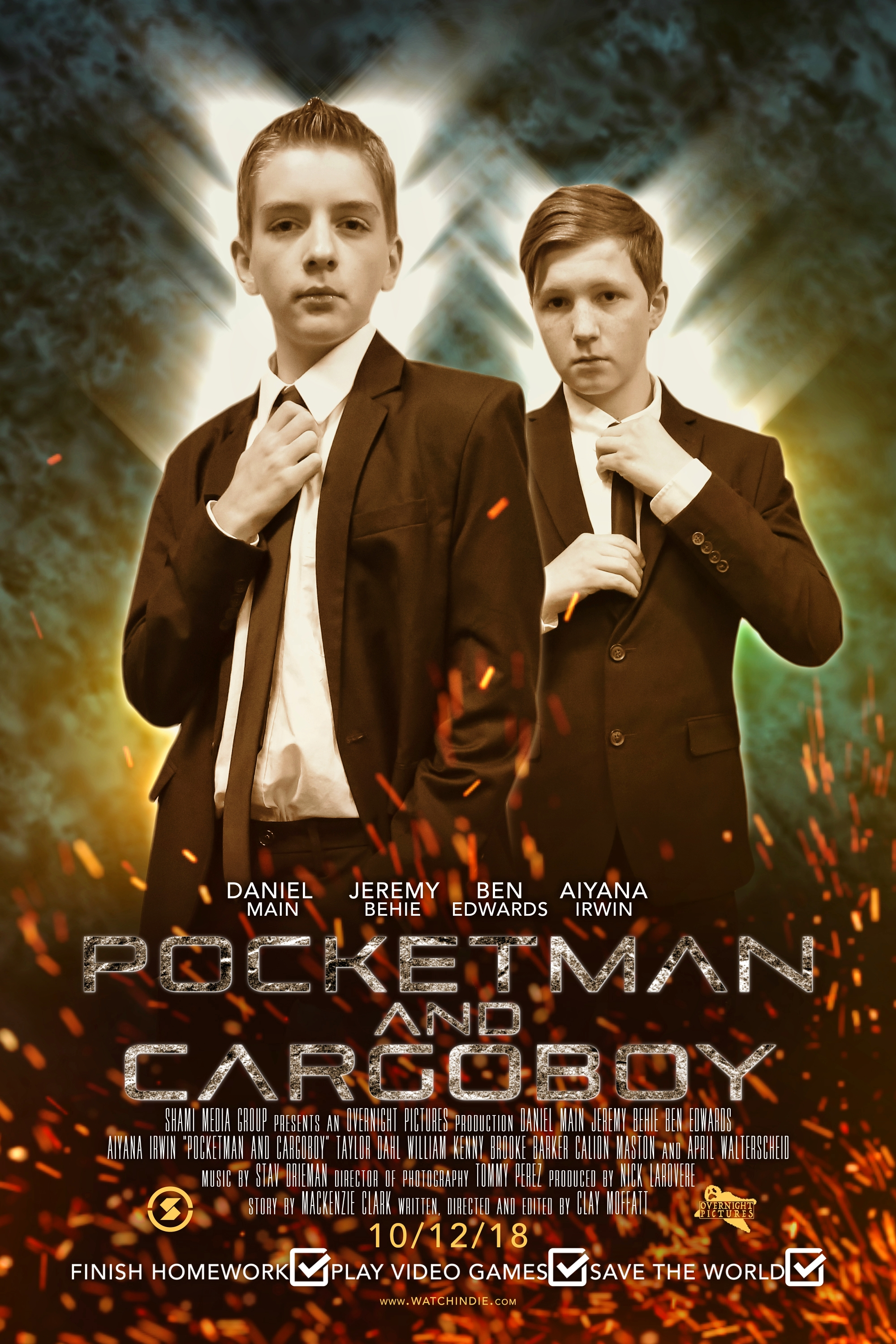 Pocketman And Cargo Boy 2018 Review