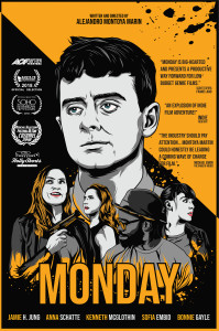 Monday poster Jpeg 199x300 Monday (2018) review