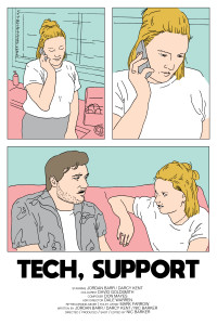TechSupportPoster 200x300 Tech, Support (2018) short film review