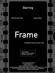 frame poster 225x300 Frame (2020) short film review